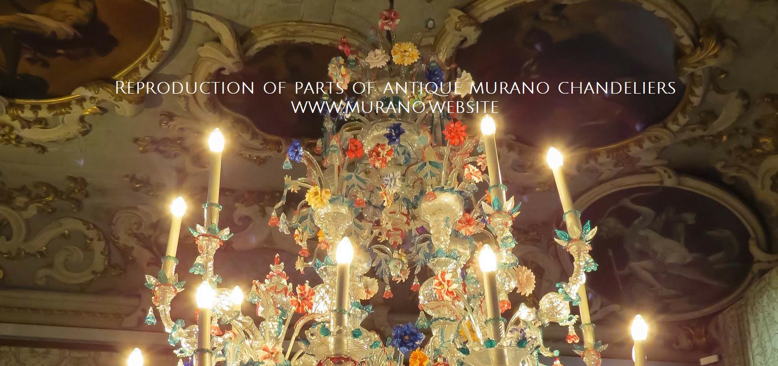 700 Murano Glass Chandeliers