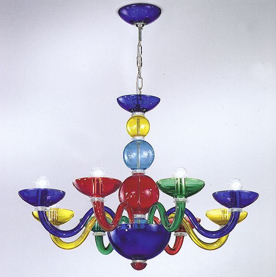 BUBBLE-colorful-modern-murano-chandeliers