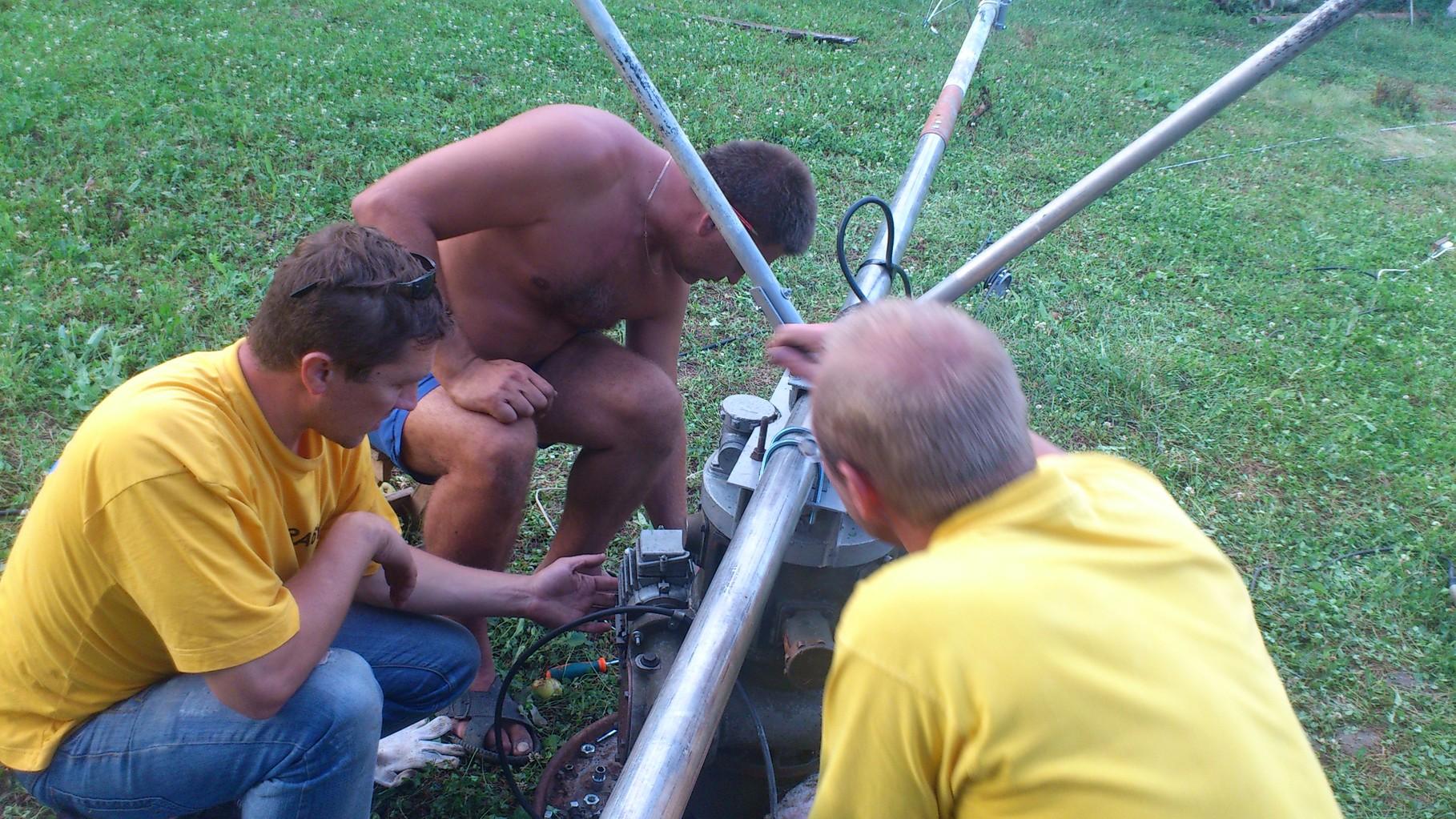 Antenna installing