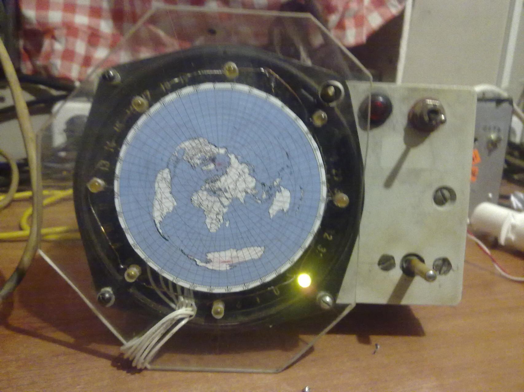 LED rotary indication