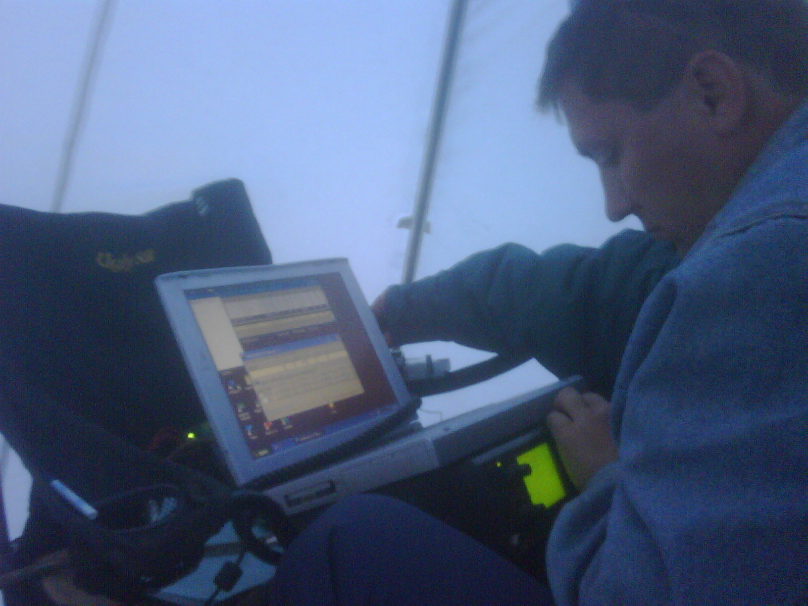 A sporadic propogation few minutes. More than 2400 km ODX