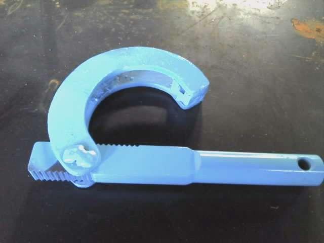 6mm鋼板 パイプレンチ