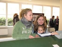 Spaß mit den Kleinen beim Holzpferd-Turnier in Karlshorst am 21.03.2009