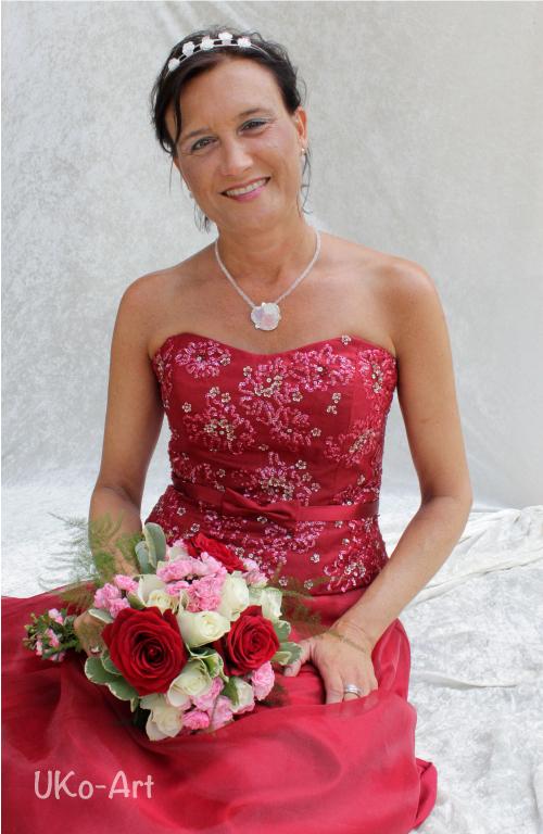 Anja Semmelbauer wird zu Anja I., Wernborner Rosenkönigin 2018-1019