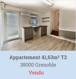 appartement a vendre grenoble