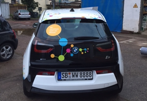 Fahrzeug Vollverklebung