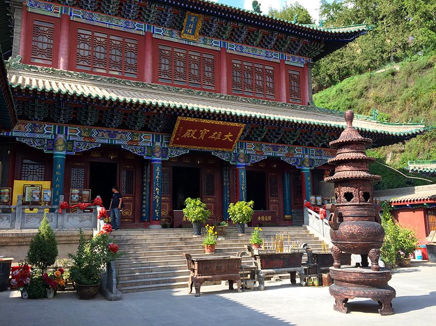 BinglingSi-Tempelanlage, Lanzhou, Provinz Gansu, China