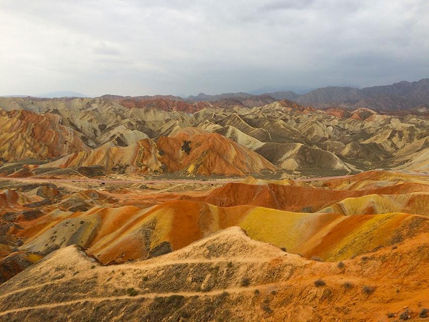 Zhangye-Danxia-Geopark, Provinz Gansu, China