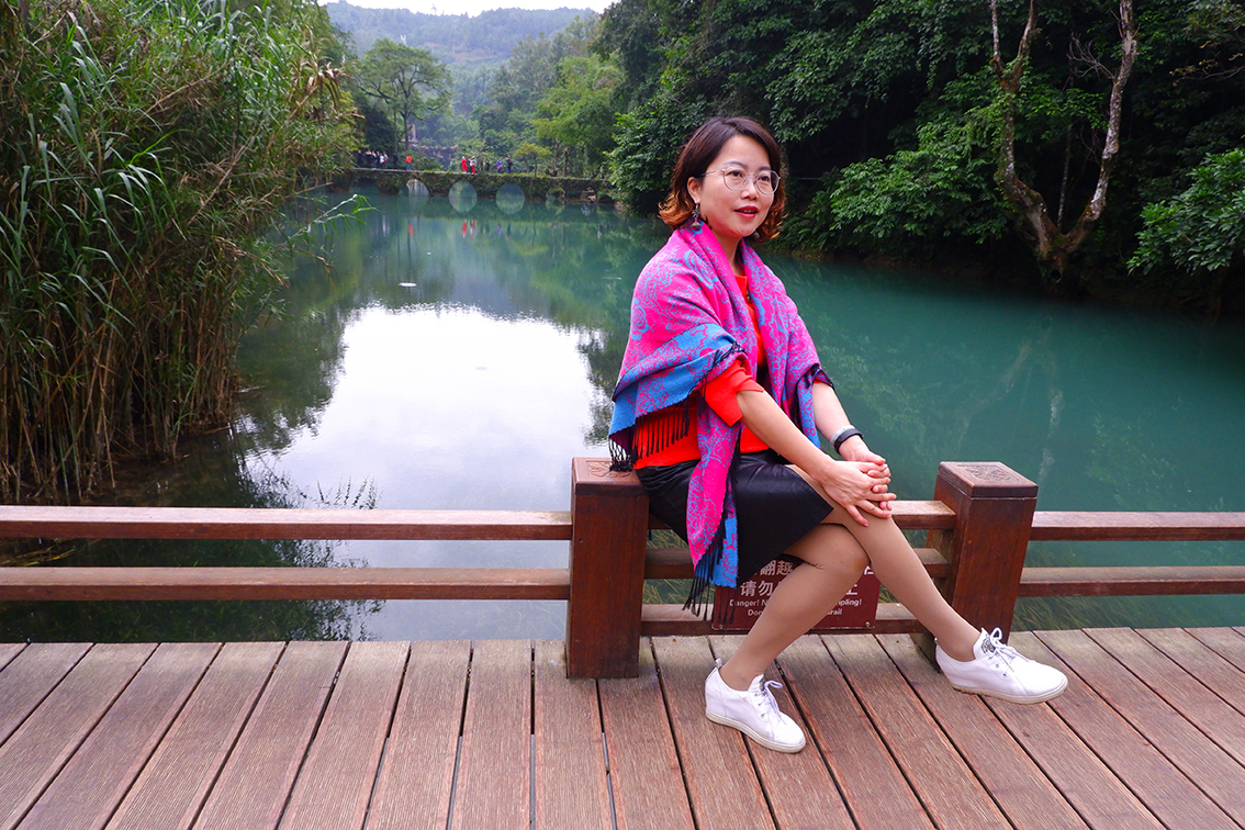 "Zhangjiang Scenic Area • Weltnaturerbe ""Südchinesische Karstlandschaft"", Provinz Guizhou, China"