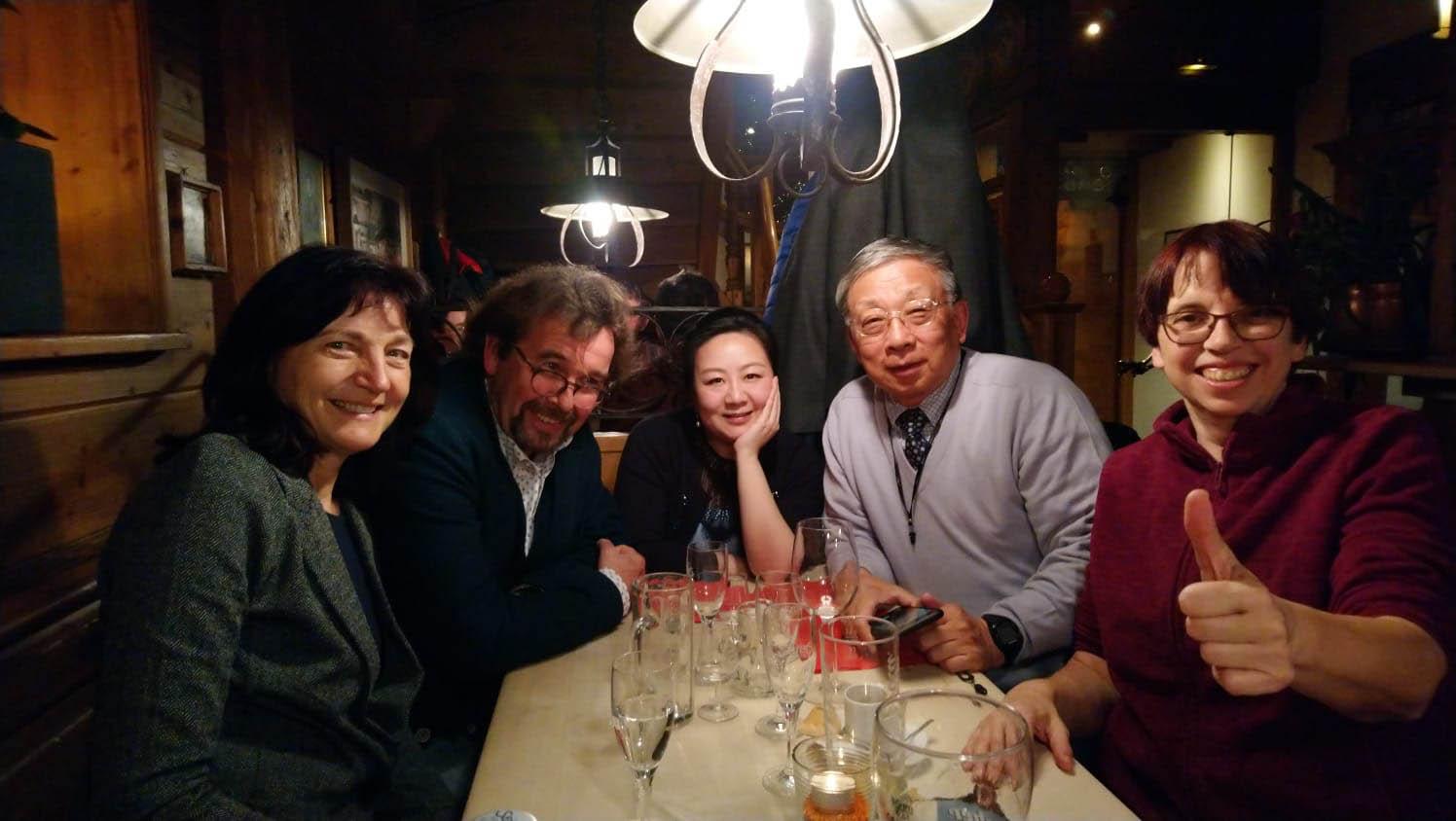 Birgit Birchner, Dr. Norbert Schürgers, Wang HaunHuan, Sun Chuanbin, Heike Hahn
