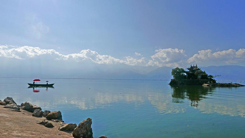 Erhaisee, Provinz Yunnan, China