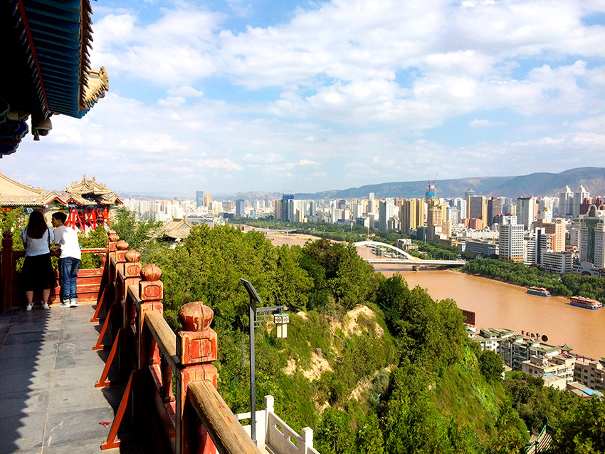 Lanzhou, Provinz Gansu, China