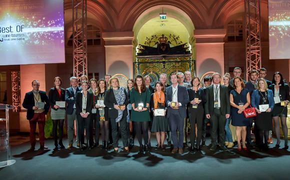 les lauréats du concours Best of Wine Tourism 2016