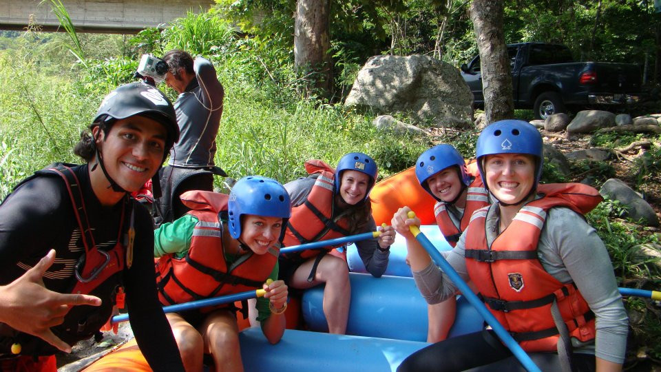 White water rafting... A BLAST!