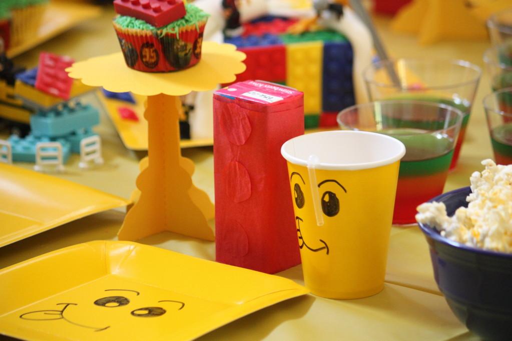 Lego juice box.