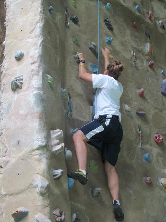 rock climbing... good stuff.