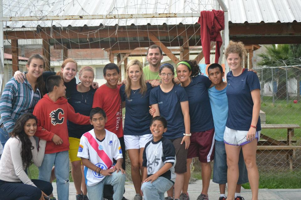 The girls' at the orphanage.