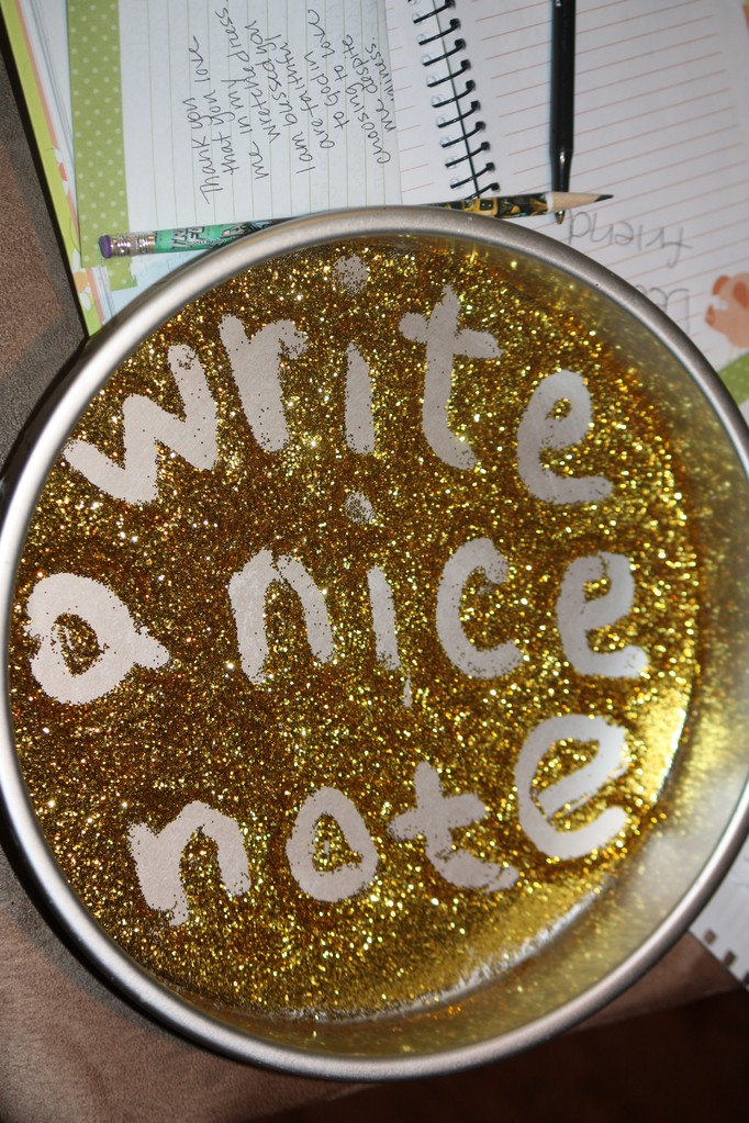 Write a nice note
