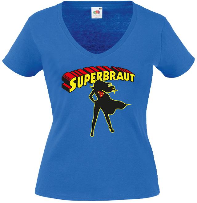 JGA Shirt Motiv Superbraut