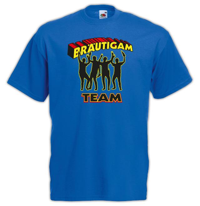 Junggesellenabschied  T-Shirt Motiv Superman Taem