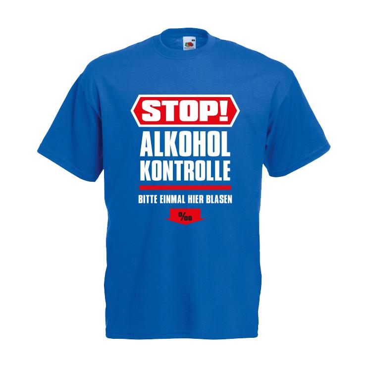 Stop Alkoholkontrolle - Einmal hier blasen bitte!
