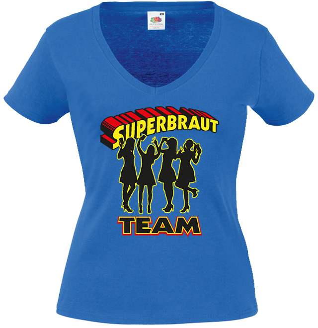 JGA T-Shirt Motiv Superbraut Team