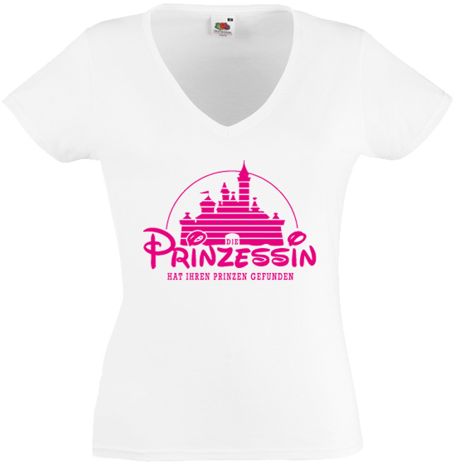 Prinzessin   D18 - Junggesellenabschied T-Shirts 70b5779544