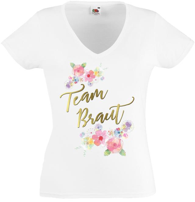 Junggesellinnenmotiv Team Braut