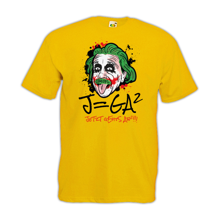J=GA² Jetzt geht's ab²