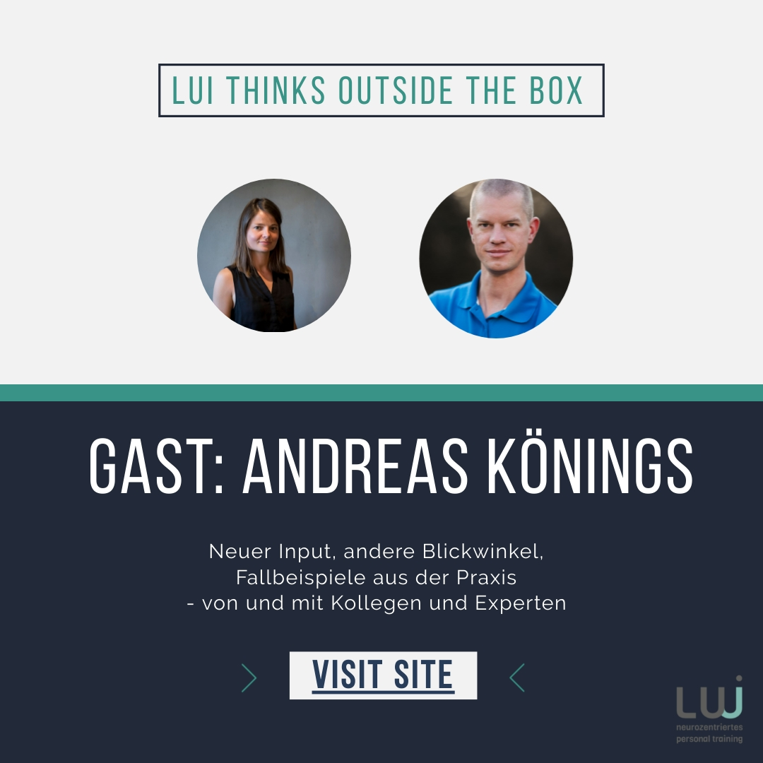 Lui thinks outside the box! Gast: Andreas Könings