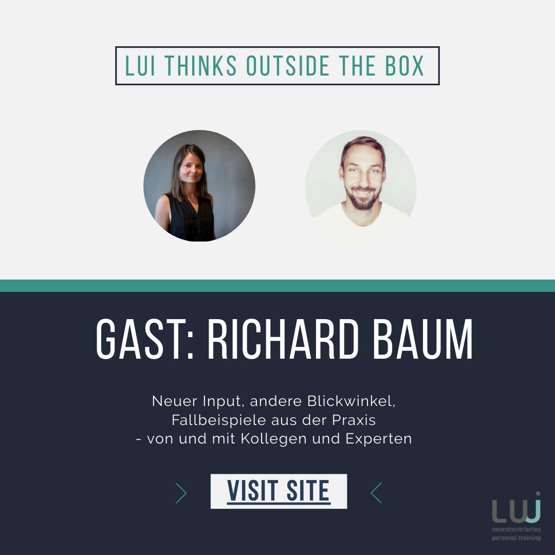 Lui thinks outside the box! Gast: Richard Baum
