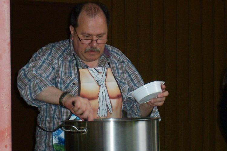 Kocht er oder nascht er...