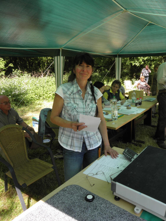 Sabine Pehns - Leiterin der Schau