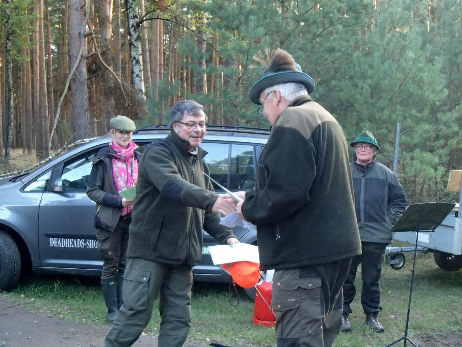 Tagessieger wurde Dr. Holger Piegert mit Atze vom Petrihof.