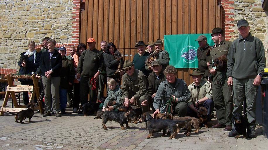 Teilnehmer der Spurlautprüfung am 22.04.12