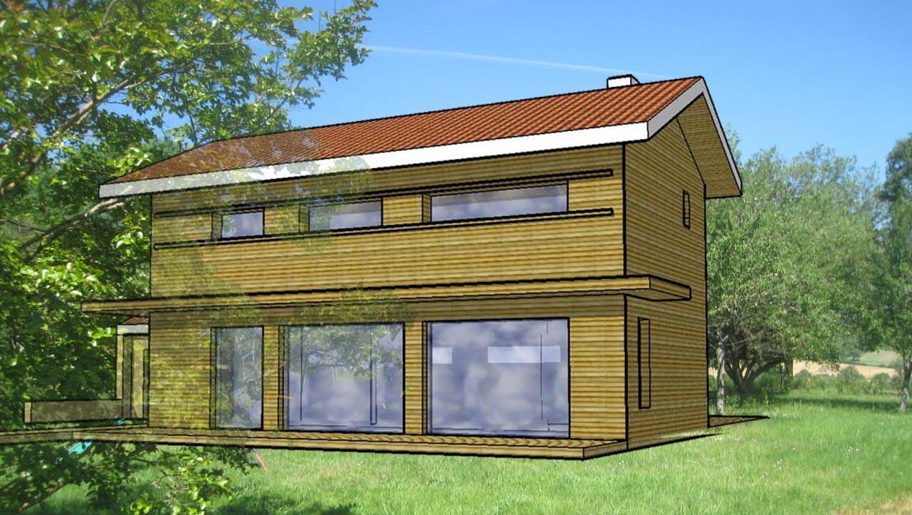 Maisons individuelles neuves site de dbarchitecte for Maisons individuelles