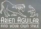 Arien Aguilar, Flattervorhang, Bodenarbeit, Gelassenheitstraining, Pony, Bodenarbeitsseil, Hindernisständer