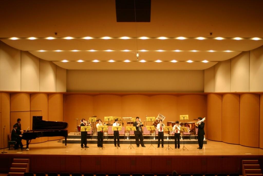 アンサンブルステージ・トロンボーン7重奏+ピアノ♪