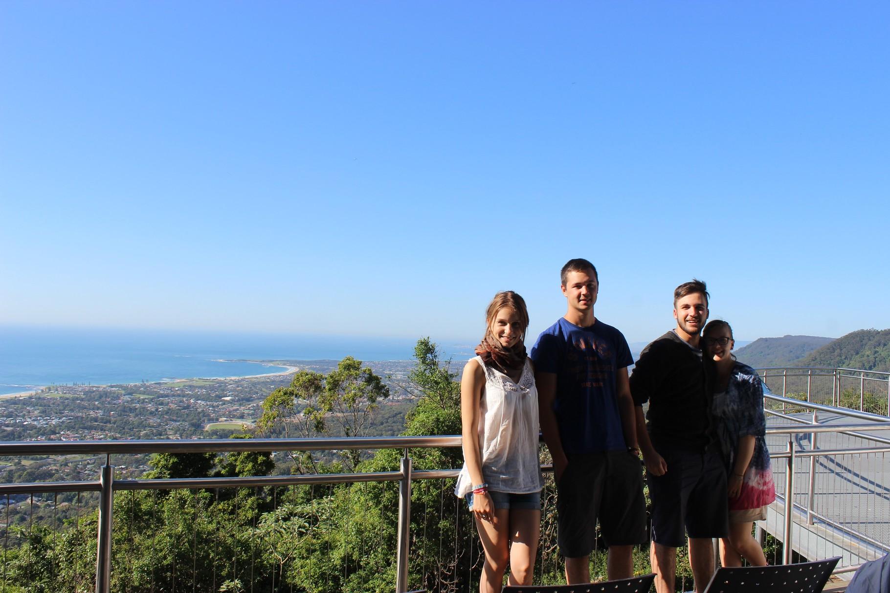 Aussichtterrasse auf dem Weg nach Melbourne