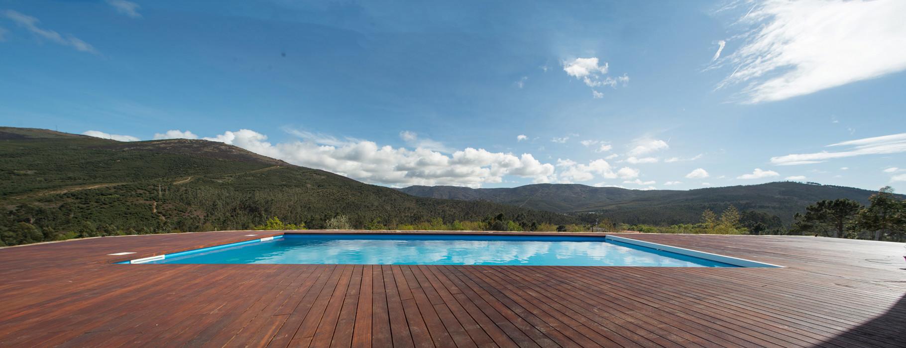 Vista da piscina