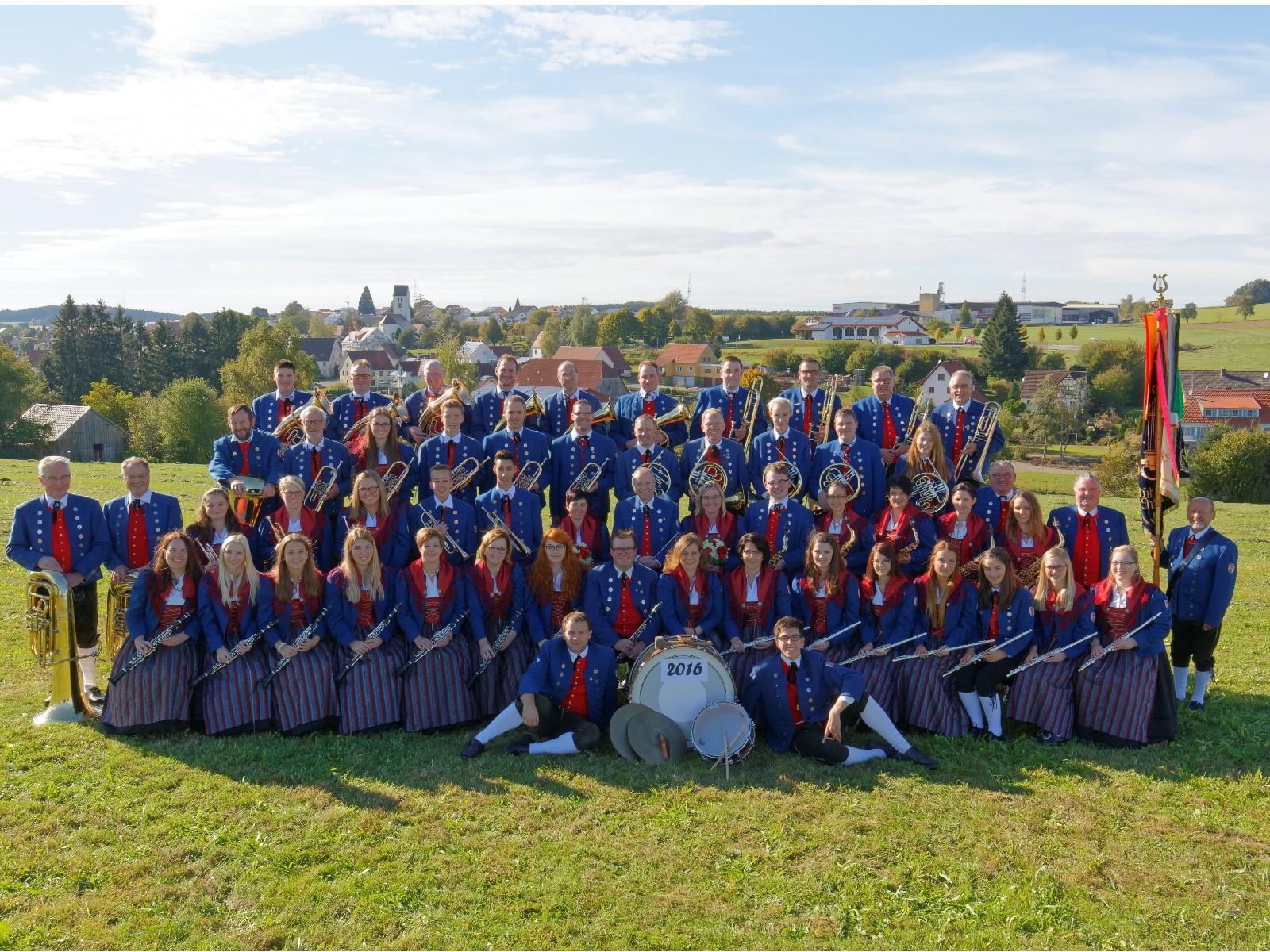 Musikverein Füramoos im Jahr 2016