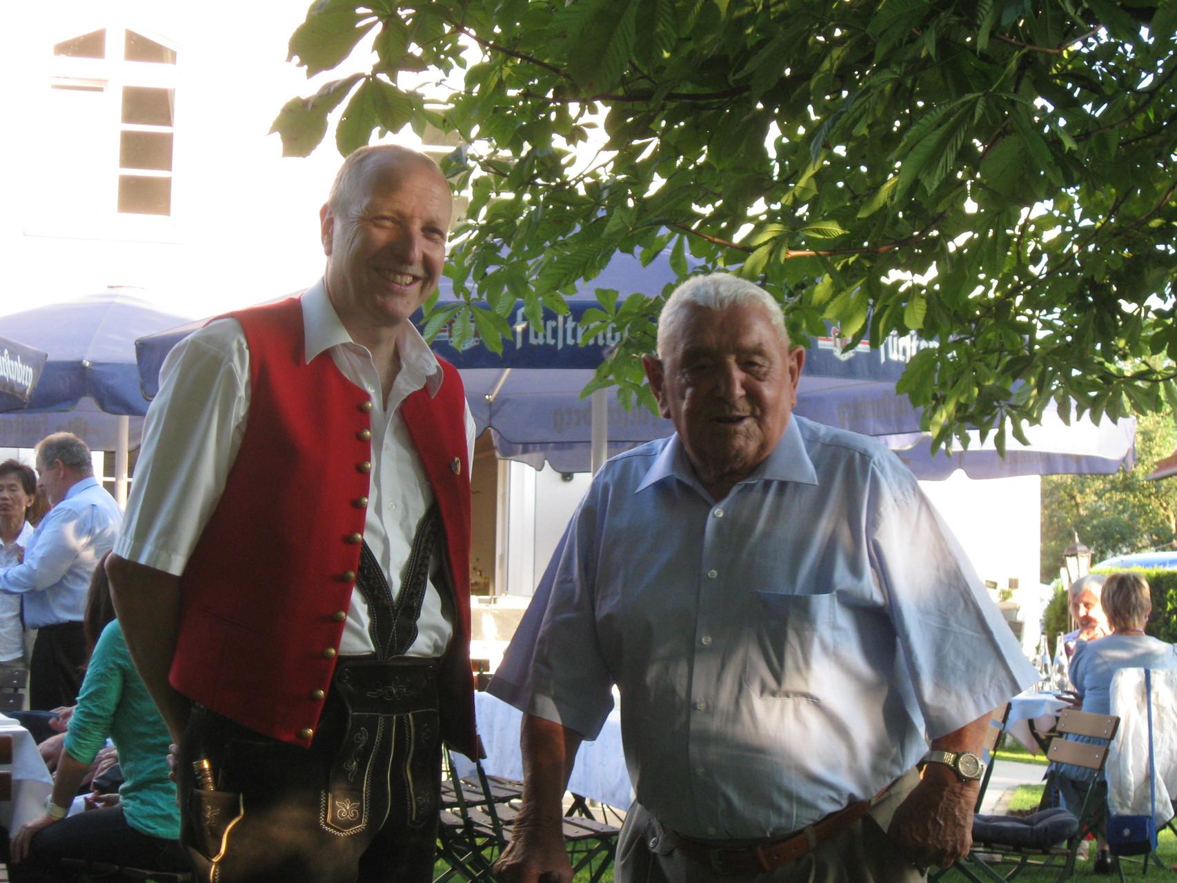 100. Geburtstag von Eugen Schöllhorn