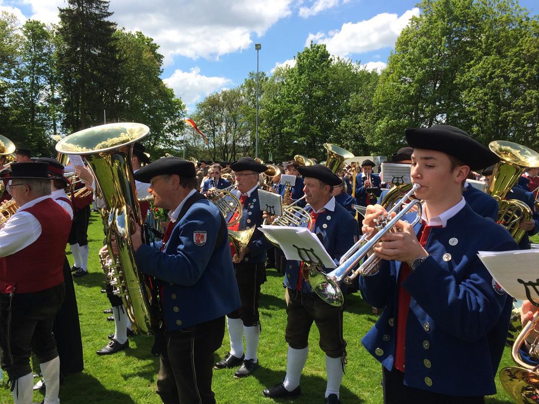 Kreismusikfest in Reinstetten