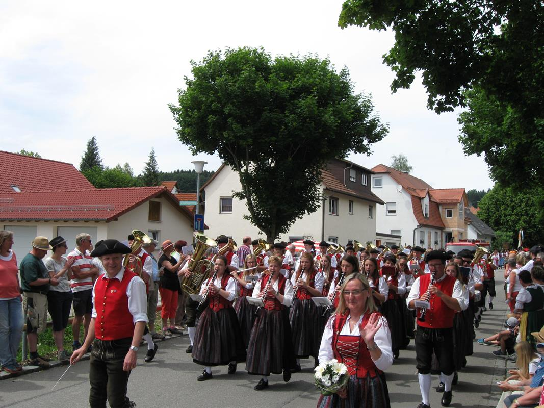 Bezirksmusikfest in Haidgau