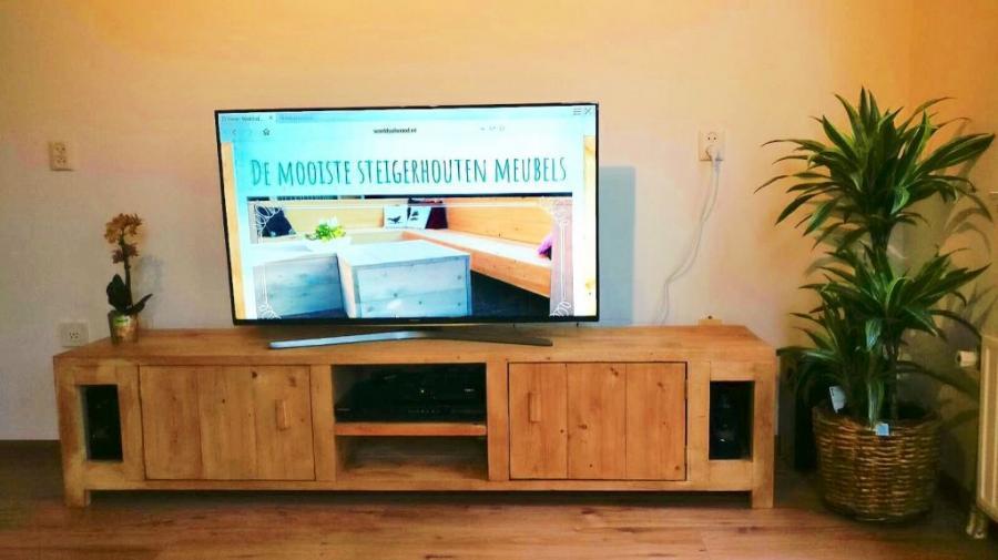 Tv Meubel Thijs.Decoratieproducten Worlds Of Wood De Mooiste Steigerhouten Meubels