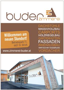 Sponsoren-Logo Zimmerei Buder