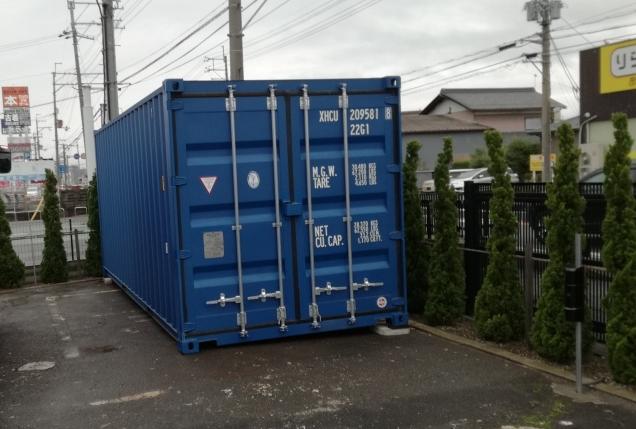 滋賀県彦根市にNEWVANコンテナ20ft納品