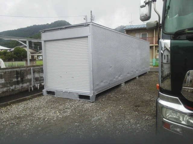 岐阜県揖斐川町 建設業様 大型アルミコンテナ