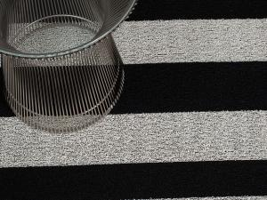 Fussmatte chilewich Black stripes indoor outdoor