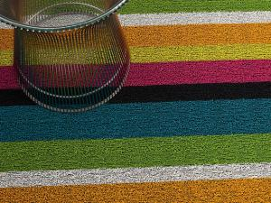 Fussmatte chilewich color stripes indoor outdoor